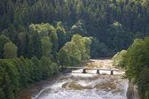 Paesaggio tipico polacco — Foto Stock