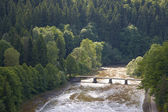 Typiska polska landskap — Stockfoto