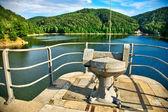 Dam in Zagorze, Poland — Stock Photo