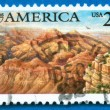 Stamp printed in USA showing Grand Canyon — Stock Photo #6338101