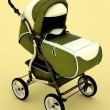 Pram in studio — Stock Photo #6520541