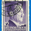 AdolfHitler on the postage stamp - Stock Photo