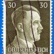 Royalty-Free Stock Photo: AdolfHitler on the postage stamp