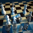 Chess battle — Stock fotografie