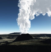 Volcanic crater — Stock Photo