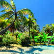 Hawaiian paradise - Stock Photo