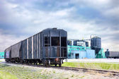 Train boxcar — Stock Photo
