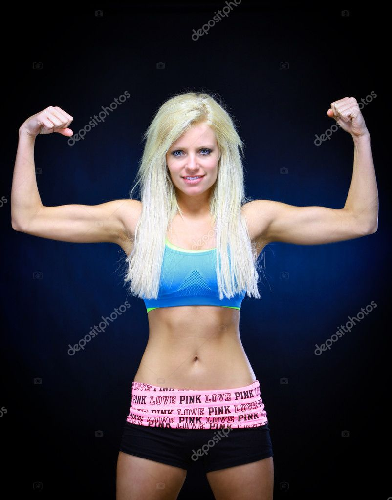 Tough woman — Stock Photo #6113595