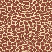 Textura de girafa — Vetor de Stock