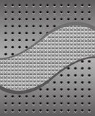 Iron background — Stock Vector