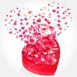 Royalty-Free Stock Vector Image: Heart gift present