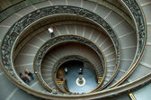 Spiral staircase in Vatican museum — Stock Photo