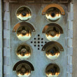 Door bells in Venice — Stock fotografie
