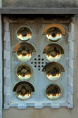 Door bells in Venice — 图库照片