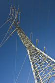 Electrical tower — Stock Photo