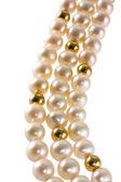Collar de perlas — Foto de Stock