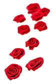 Fabrics rose — Stock Photo