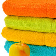 Stock Photo: Varicoloured towel