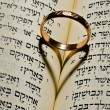 Ring in the Bible — Stock Photo #6379098
