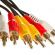 Stock Photo: RCA cable