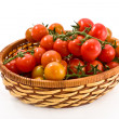 Basket with tomatoes — Stock Photo #6398188
