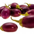Stock Photo: Small eggplant