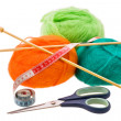 Thread for knitting — Stock Photo