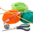 Stock Photo: Thread for knitting