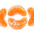 Slices of a tangerine — Stock Photo