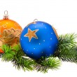 Year's tree ornaments - Stock Photo