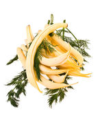String bean and fennel — Stock Photo