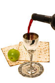 Shabbats wine in the cup — Stock Photo