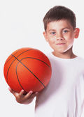 Child with ball — Stock Photo