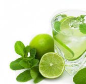 Mojito cocktai — Stock Photo