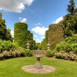 English stately home garden — Stock Photo