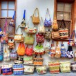 Street shopping — Stock Photo