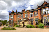 English stately home and gardens — Stockfoto