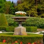 English stately home garden — Stock Photo #6330379