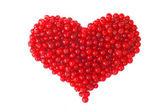 Fruit heart — Stock Photo