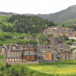 Stock Photo: Little village in Pyrenees
