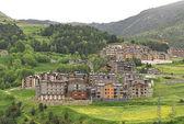 Little village in Pyrenees — Stock Photo