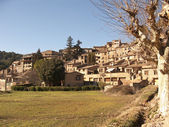 Little town in the country (Catalonia, Spain) — Photo