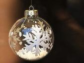 Christmas balls and decoration closeup — Stock Photo