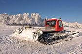 Velké sněžný pluh — Stock fotografie