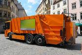 Garbage truck — Stock Photo