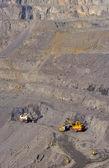 Open-cast mine of iron ore — Stock Photo