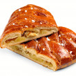 Apfelstrudel (apple pie) — Stock Photo