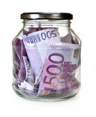 Euro money in Bootle — Stock Photo