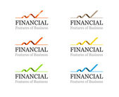 Corporate Financial or Business Logo Template - Vector — Stock Vector