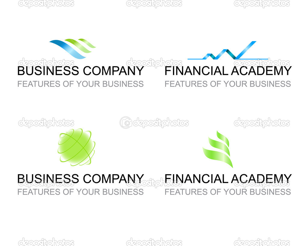 Logo Template Set of Signs